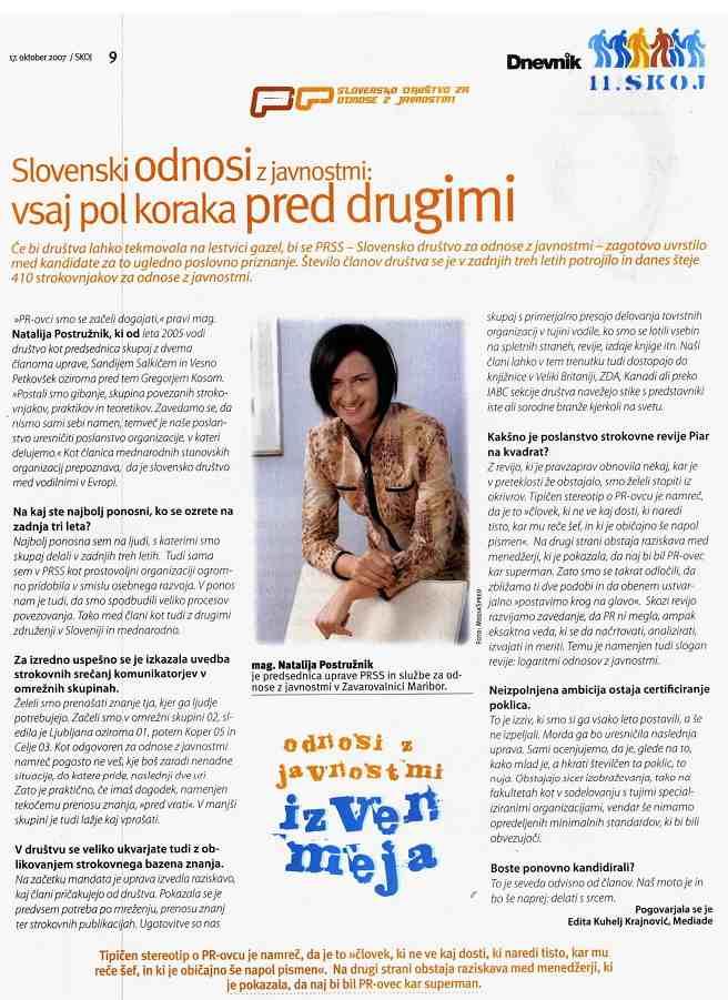Slovenski odnosi z javnostmi