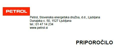 Petrol Ljubljana mag. Aleksander Salkič priporočilno pismo